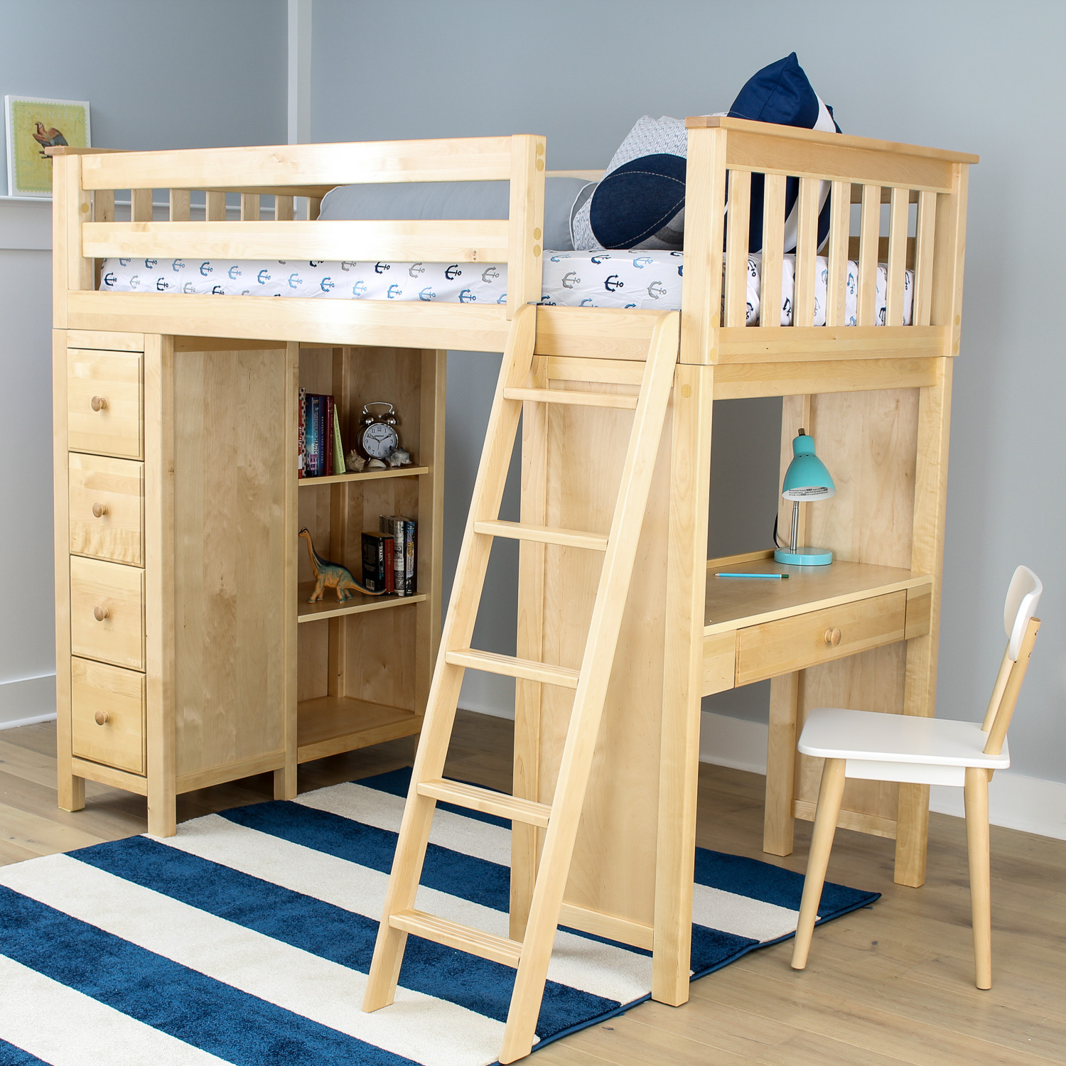 All In One Loft Beds Image Gallery